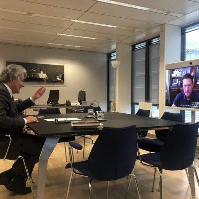 TikTok CEO Breton Mayor EU disinformation