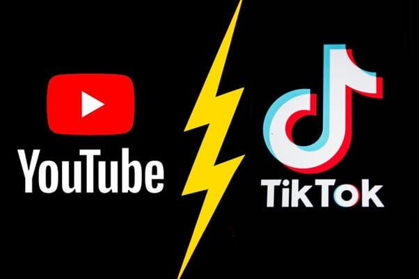 TikTok vs Youtube 15 seconds