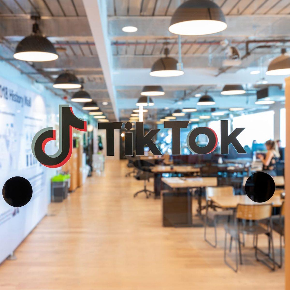 TikTok UK headquarter office