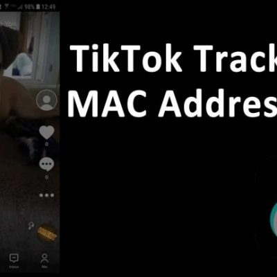TikTok tracked user device MAC address