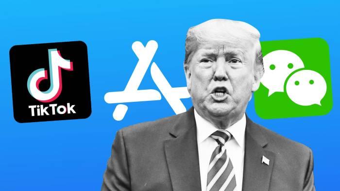 TikTok app ban from US app store