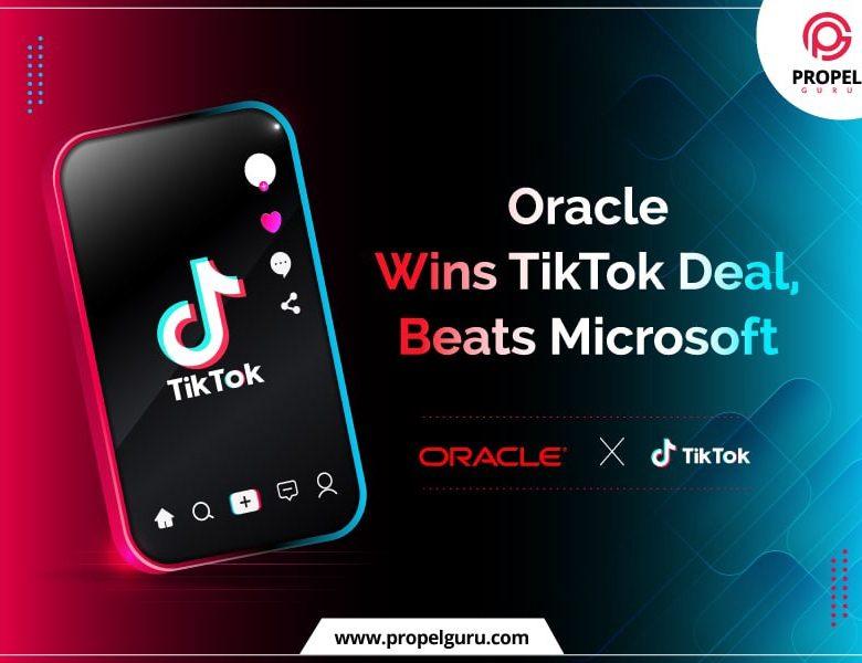 Oracle Wins TikTok US operation Beating Microsoft