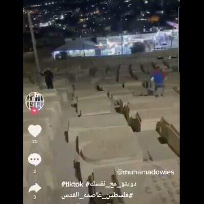 Jerusalem Man Arrested Over Running on Graves For TikTok Video