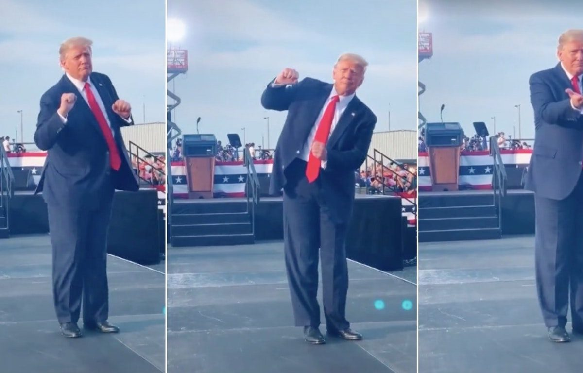 Trump's Florida Rally Dance Moves Become Viral TikTok Dance Challenge