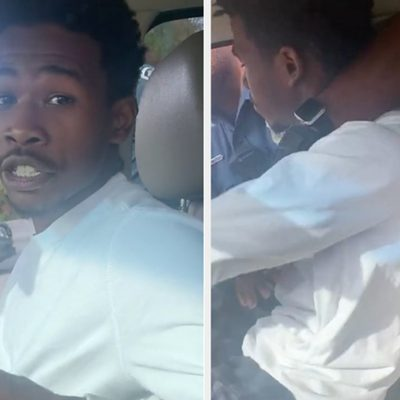 Maryland Police Using Excessive Force On Black Man During Traffic Stop