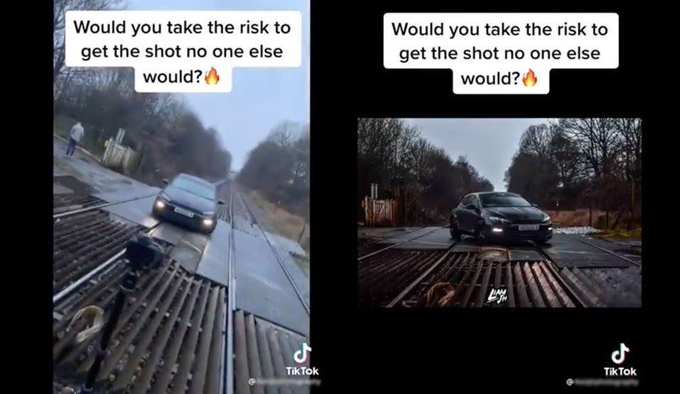Car Parked on Railway Tracks TikTok Video Being Investigate