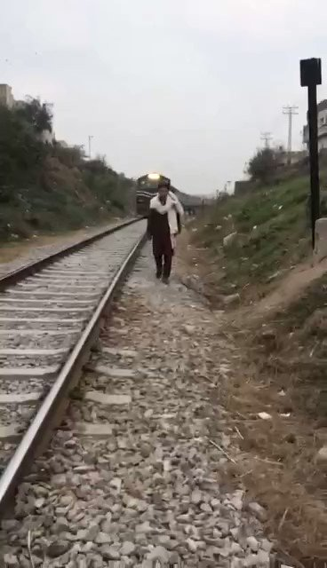 Young Man Hit by Train While Recording TikTok Video