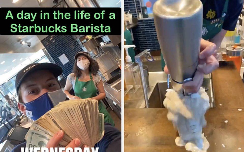 Starbucks Fired College Student For Posting Jokes On TikTok