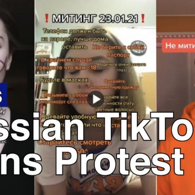 Russia Fines TikTok Over Calls For Minors To Join Protests TikTok Death