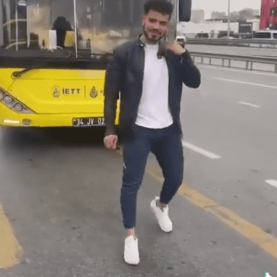 Man Wanders Death Wish TikTok Challenge in Front of Moving Bus TikTok Death
