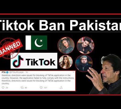 Fourth Time, Pakistan Block TikTok For Indecent Content TikTok Death