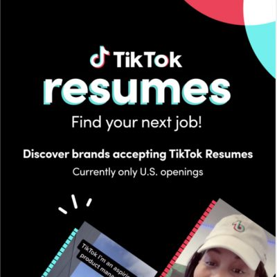 TikTok Launches Resumes To Apply For Jobs With Video Resumes TikTok Death