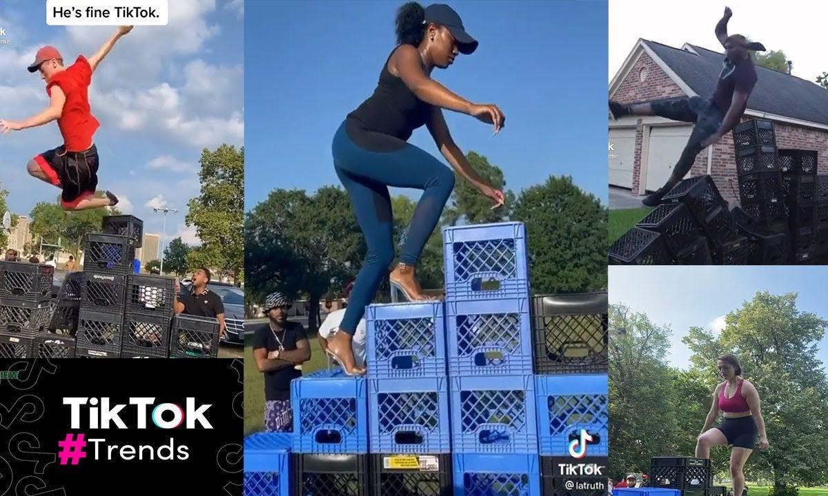 Dangerous TikTok's Milk Crate Challenge Causing Injuries TikTok Death
